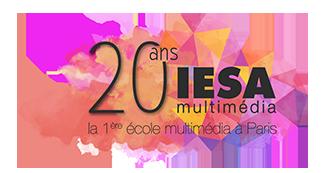 logo IESA Multimedia 20ans